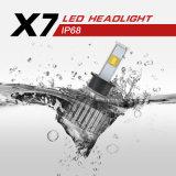 차를 위한 H3 6000k 40W 크리 사람 3600lumens LED 헤드라이트 전구