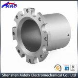 Kundenspezifische hohe Präzision CNC-maschinell bearbeitende Aluminiumbewegungsteile für Automobil