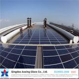 Bajo el hierro para vidrio templado de la Energía Solar Fotovoltaica