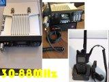 radio bidirezionale della stazione base 30-88MHz/50W, radio bassa dello zaino di VHF