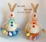 Decoração de Páscoa - coelhos (MX1249)