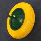 Roda de espuma de PU de alta qualidade para trole de mão