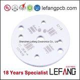 PCB основания 0.4~3mm круглый медный для света завода СИД растущий