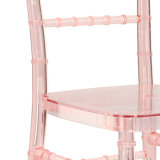 ضوء - لون قرنفل أكريليكيّة [شفري] كرسي تثبيت لأنّ عرس وحادث