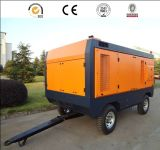 Portátil de 750 cfm energía diesel compresor de aire