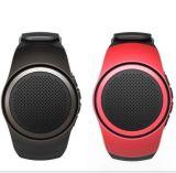 Het draagbare Polshorloge met laat Spreker Bluetooth toe