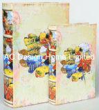 S/2/lienzo el diseño de estilo popular de madera MDF Cuadro de la libreta de almacenamiento de impresión