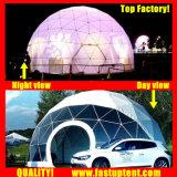 Удалите Fastup прозрачный белый ПВХ оптовой купол