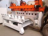 8 cabeça de escultura em madeira Máquina Router CNC
