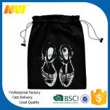 Sacola de sapato com cordão de veludo de alta qualidade e alta qualidade