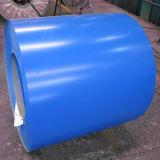 PPGI et a enduit la bobine d'une première couche de peinture galvanisée (Ral5015)