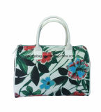 Цветок печатает женщин прокатанных сумку Tote красотки полиэфиром