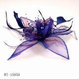 Le fil de nylon violet Peigne à cheveux (WT-15858)