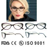 Vidrios de las mujeres de las lentes de la vendimia de los vidrios del ojo de gato de la alta calidad