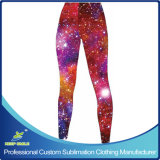 Custom Sublimation Girl's legging avec Custom Designs