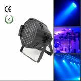 54*3W RGBW LED Aluminium-NENNWERT Licht für Innenstadium