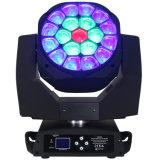 Lumière d'étape de l'oeil 19PCS 15W DEL d'abeille/matériel éclairage principaux mobiles de disco