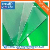 лист PVC пластмассы 1-3mm толщиной ясный твердый