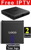 주문품 자유로운 IPTV 인조 인간 텔레비젼 상자 S905X 쿼드 코어 T95X-2GB/16GB