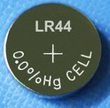 Pile alcaline d'AG13 Lr44/L1154 1.5V 145mAh pour la montre