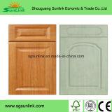 Porte moulée en armoire en placage en plaques HDF