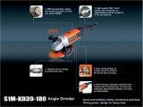 Kynko 2200W amoladora angular Herramientas de corte Herramientas de molienda para piedras