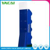 Rack de exposições de papel dobrado reciclado suporte de monitor de piso