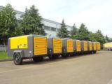 Plataforma de perforación, compresor de aire portátil Diesel
