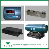 液体またはガスのための電子シリンダー重量を量るスケール