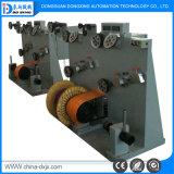 Caixa de eixo duplo fio de linha de extrusão máquina de enrolamento do cabo