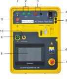 Conjunto de Teste Hipot AC automático