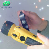 Multifuntional Dinamo linterna con radio y teléfono de la función de carga (LY-SD5020)