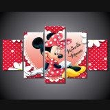 HD het afgedrukte Schilderen van de Muis van Minnie van het Beeldverhaal op Canvas mc-109 van het Beeld van de Affiche van het Af:drukken van de Decoratie van de Zaal van het Canvas