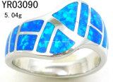 Opal anillos de joyería de plata (YR03099)