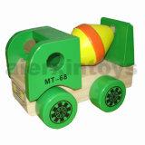 Empilhamento de madeira Brinquedos de veículo (81393, 81394, 81395, 81396)
