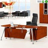 Mesa moderna de la oficina de la nueva oficina ejecutiva Marco de acero inoxidable