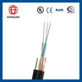 Cable óptico de fibra con FRP y el solo alambre de acero Gyfc8y