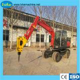 Escavatore idraulico della rotella del macchinario di costruzione 7ton con il motore di Yanmar 4tnv98