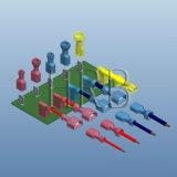 Materieller gerader Nylontyp Isolierterminal mit 24A