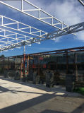 Stahlkonstruktion-Pavillion-Dach-Lager
