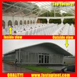 オートショー1500の人のSeaterのゲストのための透過Arcumの玄関ひさしのテント