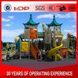 安い幼稚園のスライド、子供の商業屋外の運動場装置HD16-045A