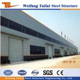 Fábrica del marco de la estructura de acero de la luz del bajo costo de vertiente prefabricada