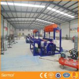 Heiße eingetauchte galvanisierte örtlich festgelegte Knoten-Eisen-Zaun-Maschinerie, Bauernhof-Zaun-Maschinerie, Rotwild-Zaun-Maschine