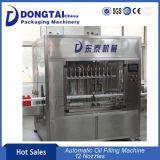 1-20L'huile comestible Machine de remplissage/avec 12 chefs de remplissage
