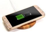 Carregador sem fio de bambu para o telefone móvel (B1)