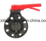 Standard DIN Compact PVC Ball Valve with Female Thread