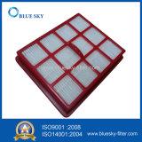 Фильтр красного квадрата HEPA для пылесоса