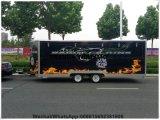 Kabinendach-mobile Auto-Arabien-Lebesmittelanschaffung-Kiosk-Karre hergestellt in China