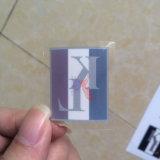 PVC transparente personalizado Kiss Cut hoja adhesiva